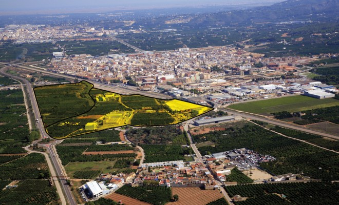 CARCAIXENT INDUSTRIAL Urban planning project Surface area:  40,400 m² For industrial use Location: Carcaixent – Valencia