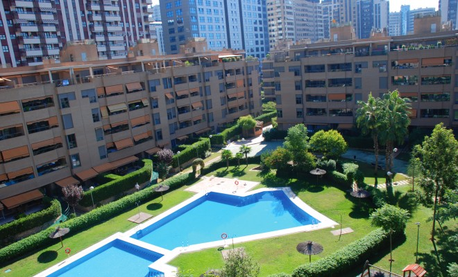 GRAN ADEMUZ RESIDENTIAL ESTATE Construction of 840 flats Surface area:  56,000 m² Location: Avenida de las Cortes Valencianas – Valencia