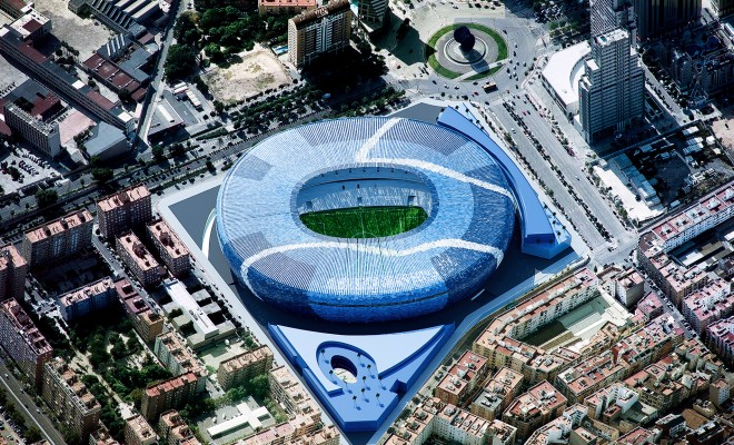 Nuevo estadio Valencia C.F.