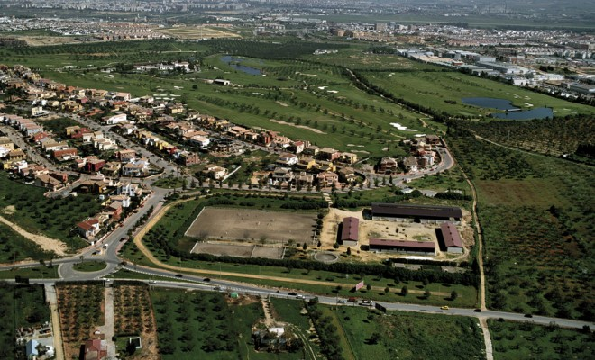 El Zaudín Estate Partial Plan Redistribution and urban planning project Surface area: 862,000 m² Location: Bormujos – Seville